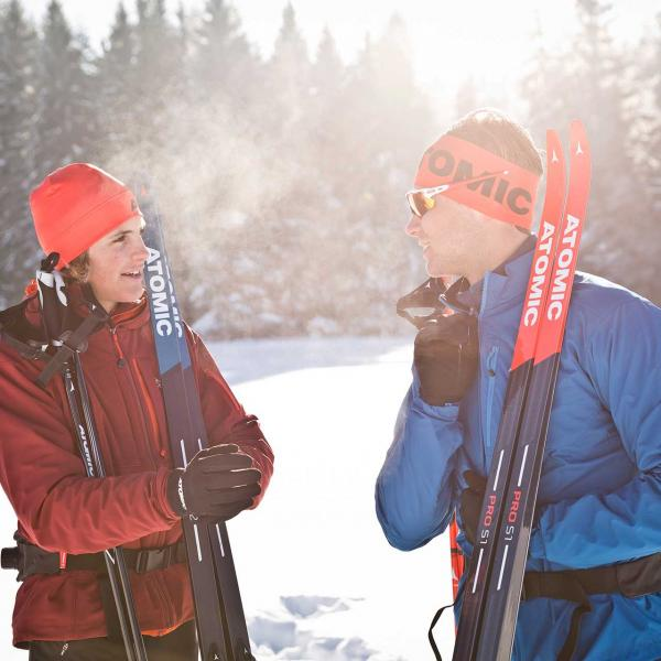 Private cross-country skiing course