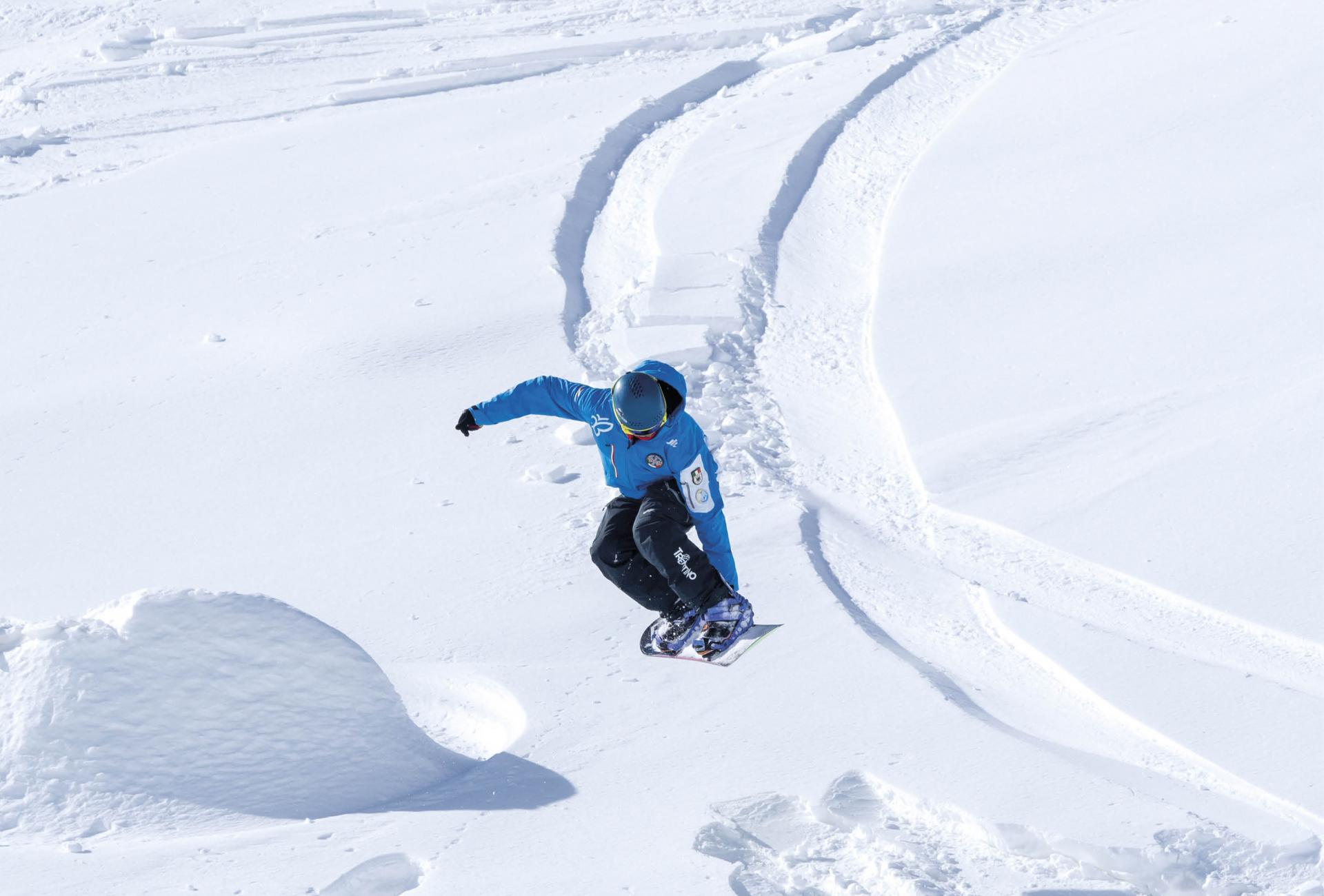 Snowboard Freestyle Course